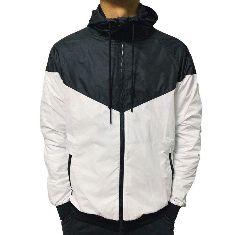 رجل جاكيتات النساء سترة معطف البلوز هوديي طويلة الأكمام ملابس خارجية الخريف الرياضة سستة سترة واقية الملابس هوديس حجم الآسيوية اختيار 2-3 أكبر من المعتاد