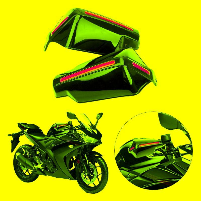 Windproof Handlebar HandGuards Motorbike Accessories Motorcycle Hand Guard Handle Protector Shield Protection Gear 1Pair ATV Parts