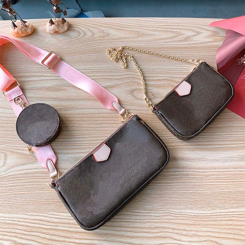 Luxo Designer Bolsa de Moda Bolsas Femininas Estilo Clássico Totes de Alta Qualidade Saco de Compras Viagens Design de Rua Famosa Impressão de Cartas Mini Cruz Cruz 4 Cor