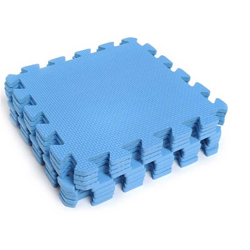 "10 Pcs/set baby Play Mat,EVA Foam Children""s Rug,Interlocking Exercise Crawl Tiles,Floor Puzzle Carpet for Kids,Each 30x30cm H0831"