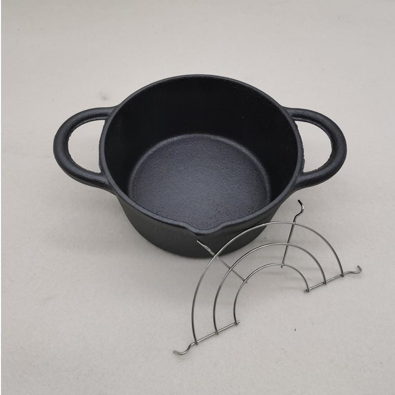 Pans Multi-functional Japanese-style Cast Iron Mini Fryer Uncoating Fast And Fuel-efficient Small Cooking Noodles StewFrying Pan