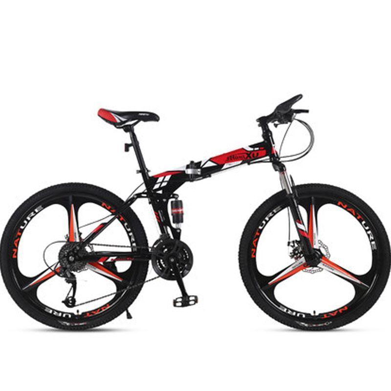 Горный велосипед складной скорость двойных дисковых тормозов взрослых мужчин и женщин студенты велосипедные велосипеды