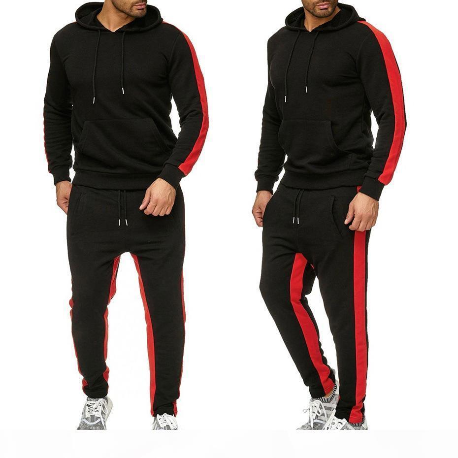 Mens Designer Hoodie Mens Tracksuits Sportswear Hoodie + Pants Sets Luxury Trajes de lujo Diseñador de alta calidad Deportes Hotn1G2
