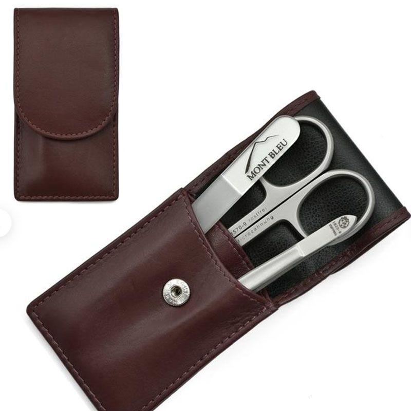 Capa protetora simples apartamento de unhas kit manicure ferramenta de armazenamento de ferramentas de couro