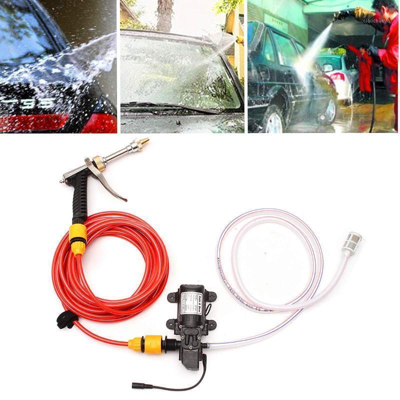 Autolavaggio 12v auto rondella Pompa pistola Pompa per pulizia ad alta pressione Assistenza portatile Lavatrice elettrica Pulizia elettrica Dispositivo automatico Styling1