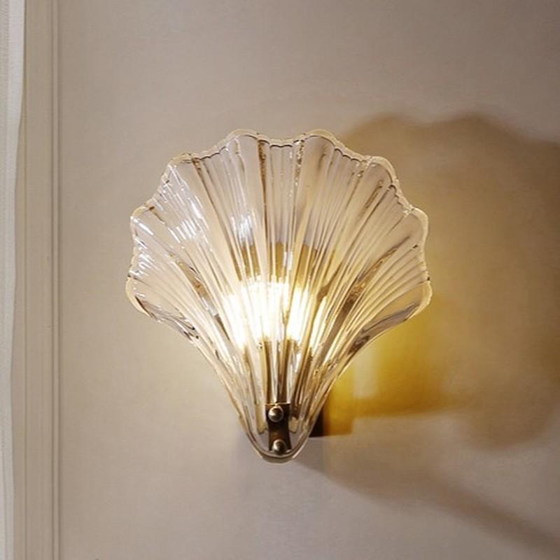 Настенные светильники простой декор искусства оболочки лампы после современного дизайнера гостиная спальня прицела креативное домашнее светодиодное освещение