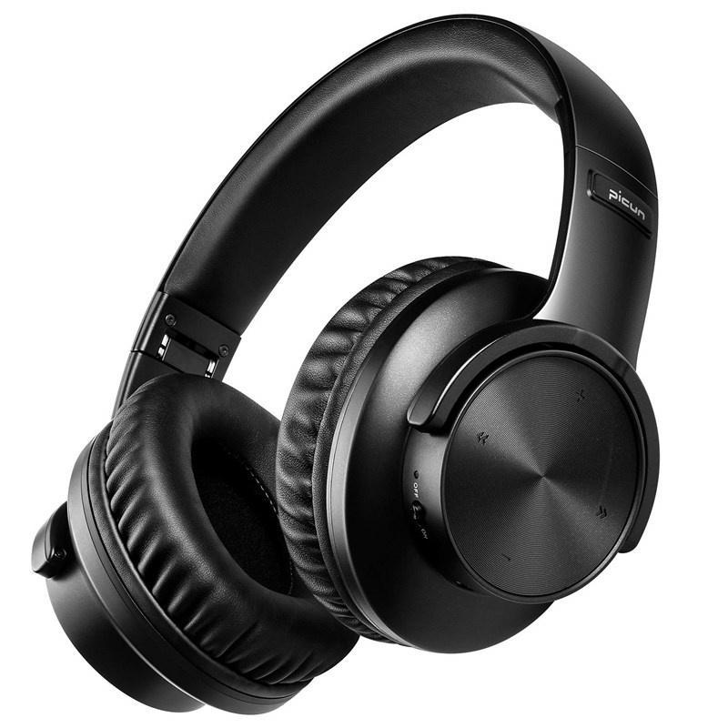 & MP4 Players Bluetooth 5.0 Headphones 40H Play Time Touch Control Wireless Headphone With Mic Over Ear Earphone TF Headset For Phone PC