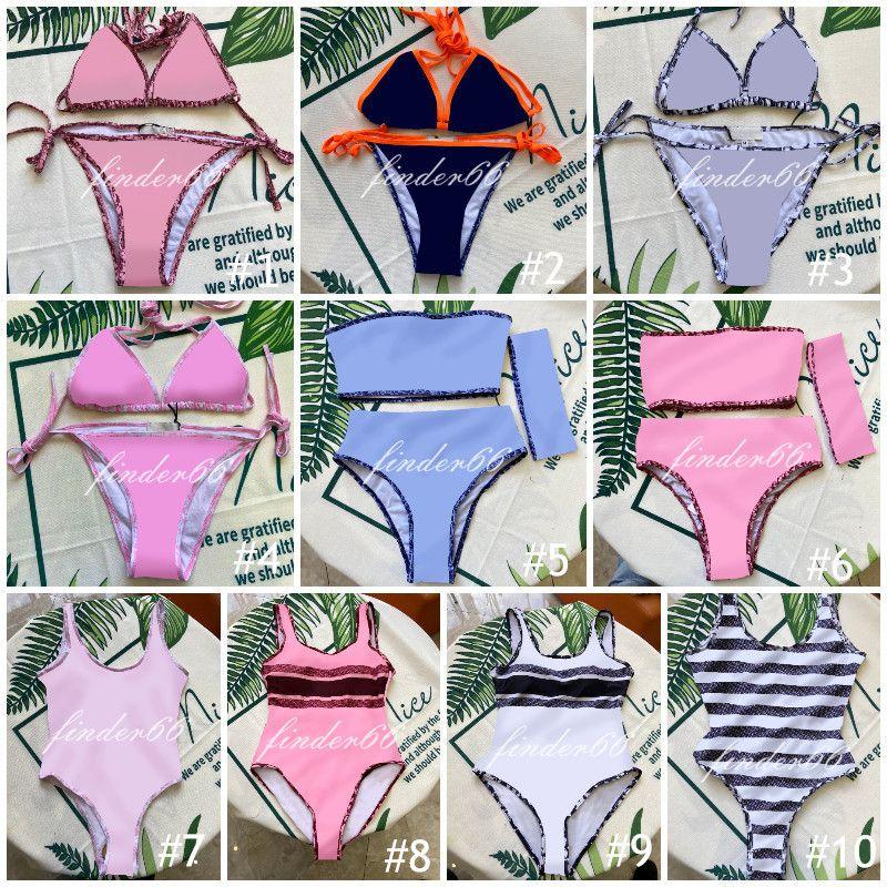 Fashion Mix 20 Stili Donne Costume da bagno Bikini Set multicolors Multicolors Tempo di estate Spiaggia Costumi da bagno Vento Costumi da bagno Alta qualità