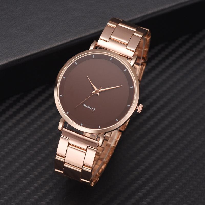 Saatı 2021 Kadın Saatler Bayan Kol Saati Moda Gül Altın Lüks Bayan Izle Business Bilek Relogio Feminino Hediye Için