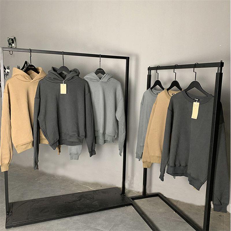 Marque originale Nouveau 100% Authentique Saison 6 Calabasas Sweatshirts Hommes Femmes Meilleures qualité Kanye West Hoodies