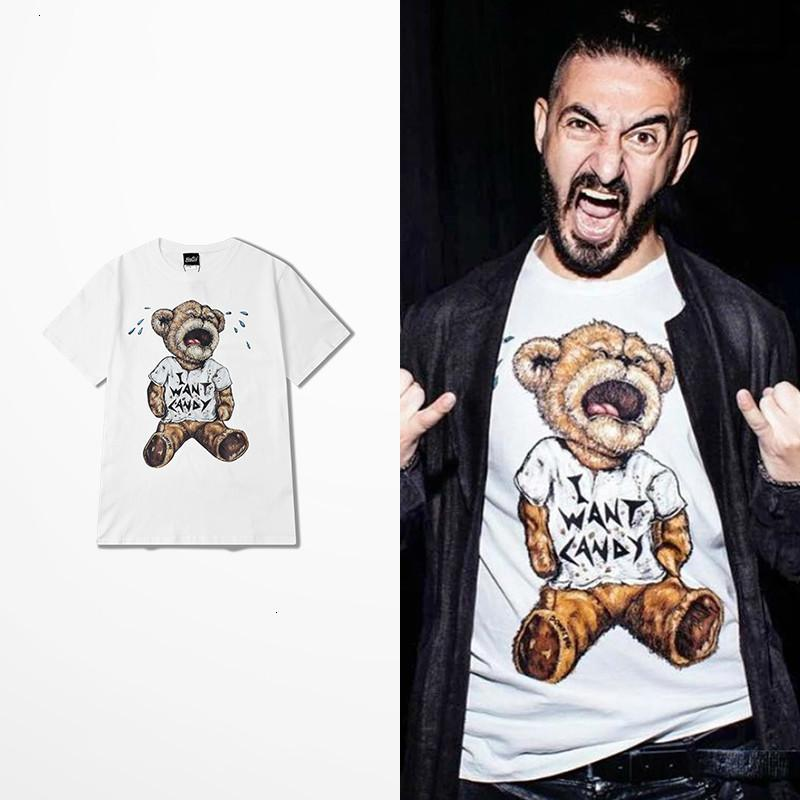 T-Stück Dr. Dr e n.w.a. Gerade T-Shirts außerhalb competon NWA Eiswürfel dre Eazy DJ Yella Mc Ren Hip Hop Bär aus Cartoon Cartoons T-Shirt