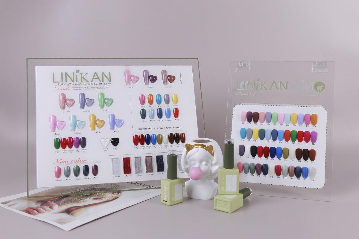 Hohe Qualität Linikan 48 Farben UV Gel Nagellack Easy Sweak Off 2021 Pantone Mode Farbe Top Base Mantel Langlebig Dauer Schnelltrocknung