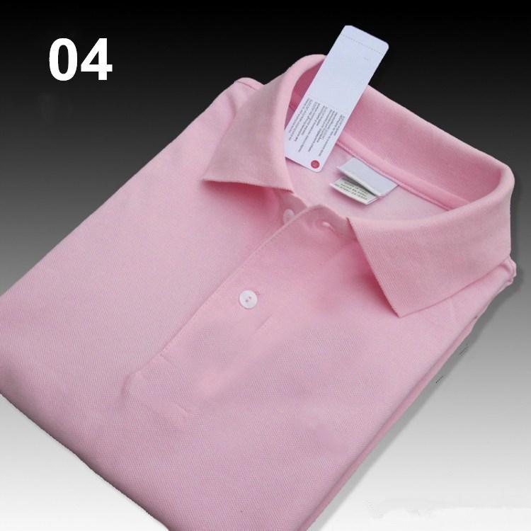 lacoste  Polo di coccodrillo di alta qualità da uomo Pantaloncini in cotone solido estate casual homme t-shirt mens poloshirt SS01
