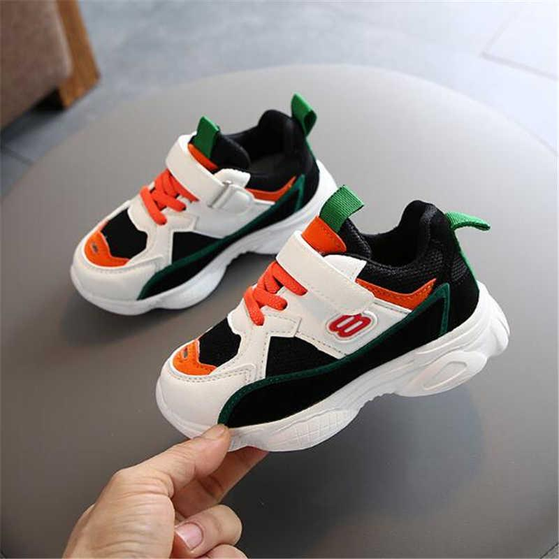 2021 new baby Breathable Lightweight Shoes Boy girl Comfortable Non-slip Shoes Baby Soft Bottom Sneakers Children's casual shoes H0917