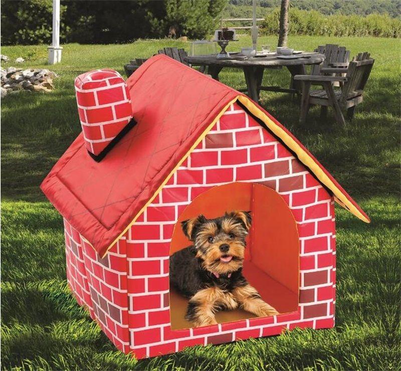 애완 동물 강아지 침대 접이식 개 집 작은 집 애완 동물 침대 텐트 고양이 개집 실내 휴대용 Trave 쿠션 매트 소파 세탁 가능한 강아지 봉제 1232 v2
