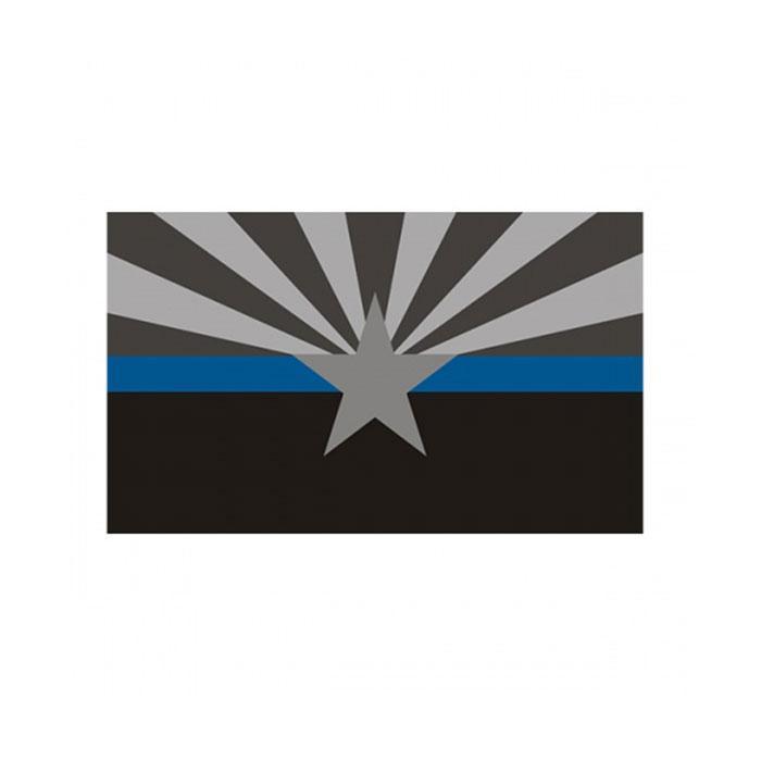 Arizona dünne blaue Linie Fahne 3x5 ft Police Banner 90x150cm Festival Party Geschenk 100D Polyester Indoor Outdoor Printed Flags und Banner