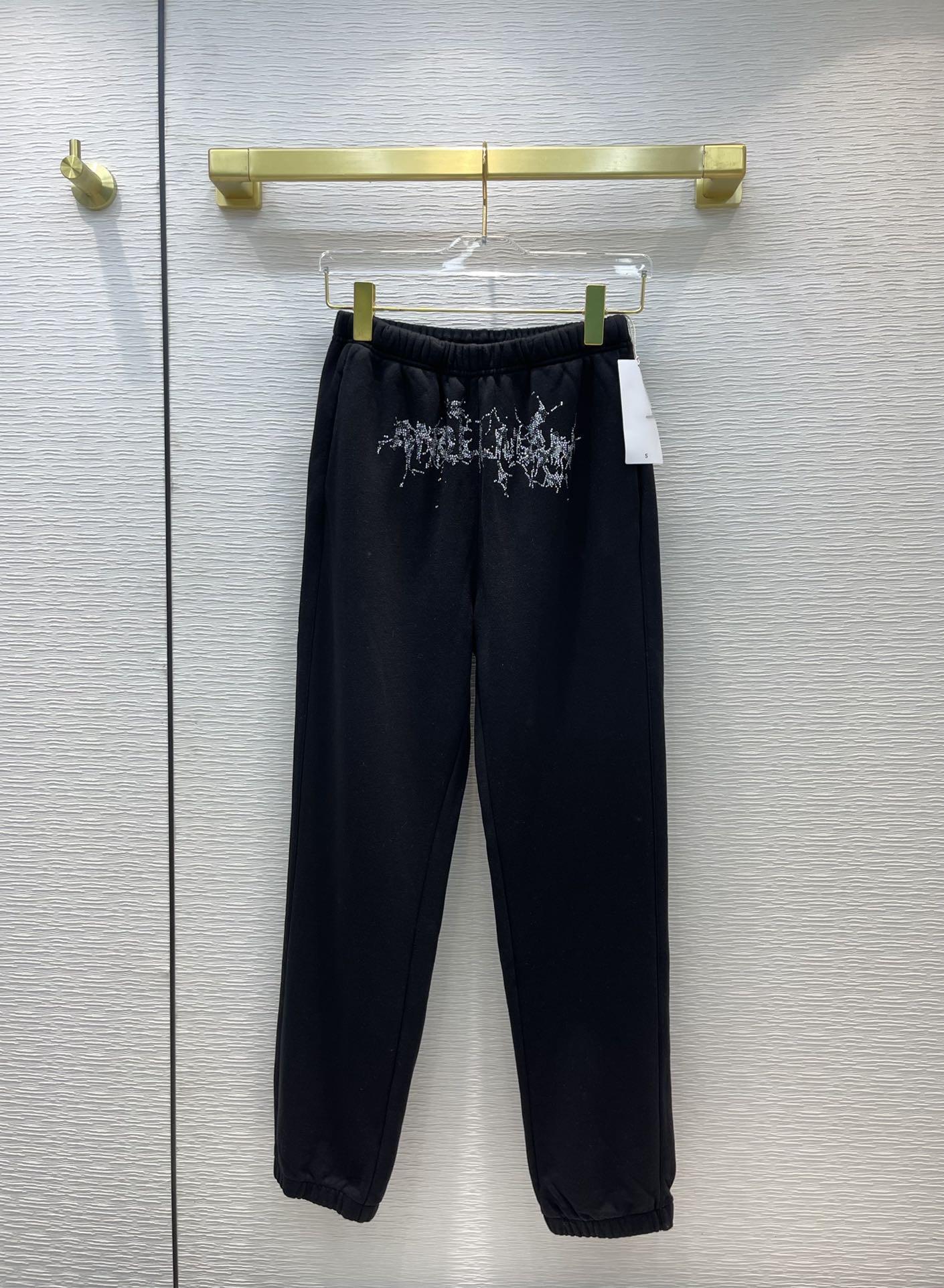 Milan Pist Pantolon 2021 Sonbahar Spor Baskı Moda Tasarımcısı Rahat Pantolon Marka Aynı Stil Pantolon kadın 0822-18