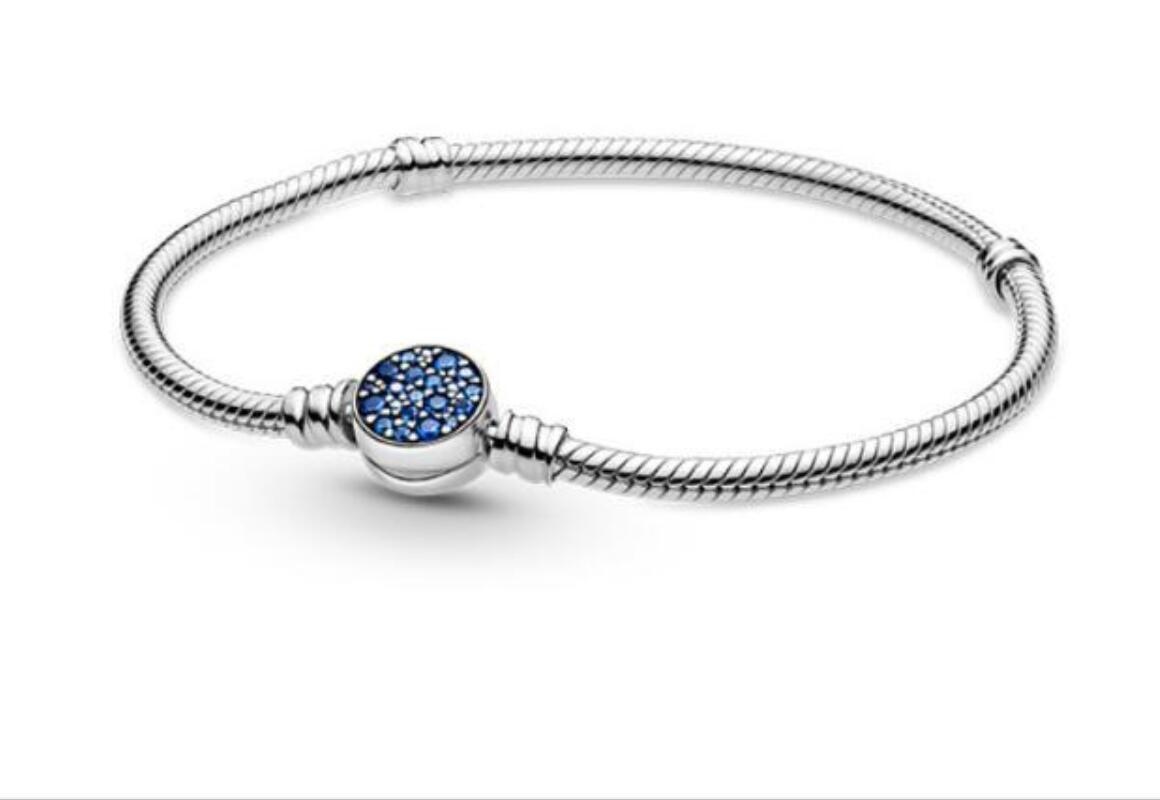 S925SterlingSilverYearSeriesProductBraceletFemaleButtonT-shapedLoveChain