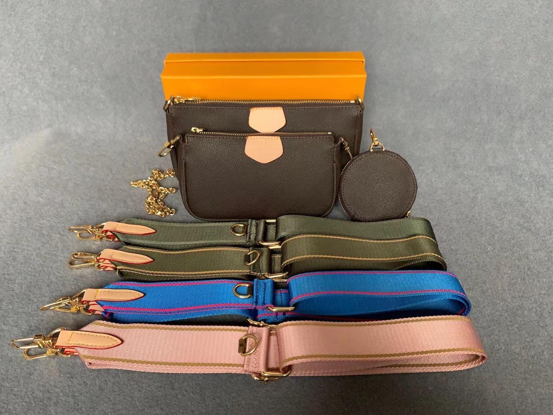 Famoso Marca Bolsa Designer 3-em-1 Messenger Bag Floar Crossbody Tote Bolsas De Embreagem Vem Box