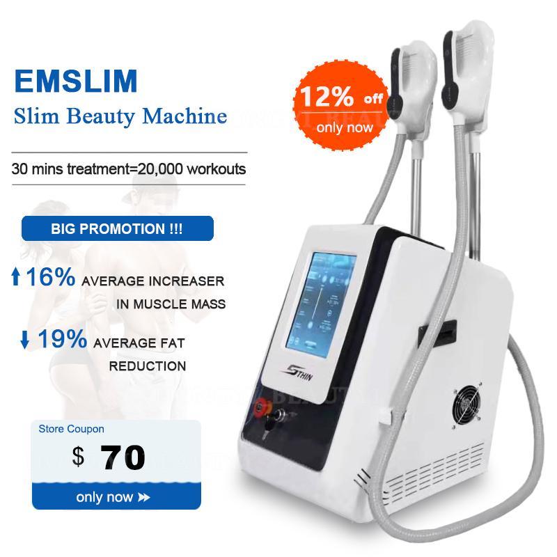 2021 emslim hi-emt تشكيل آلات ems تحفيز العضلات الكهرومغناطيسي الدهون حرق الجسم التخسيس آلة هيدروث معدات تجميل