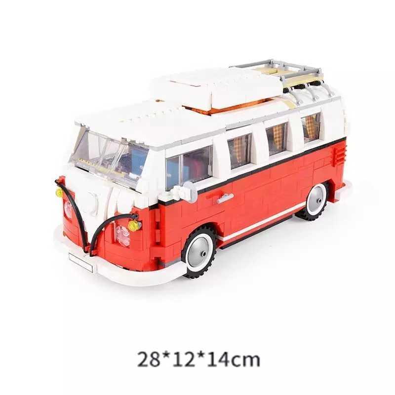 جديد 1354 قطع الخالق تكنيك سلسلة T1 كامبر فان اللبنات نموذج سيارة الطوب الحافلة 21001 الأطفال اللعب مجموعة Y0816