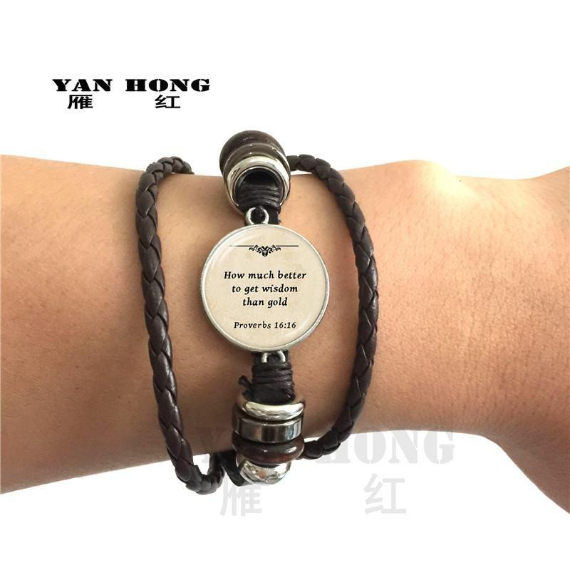 Mãe tecida pulseira de couro jóias mãe 26 letras AZ golkeeper slide charme diy acessórios rvs grade frisado, vertentes