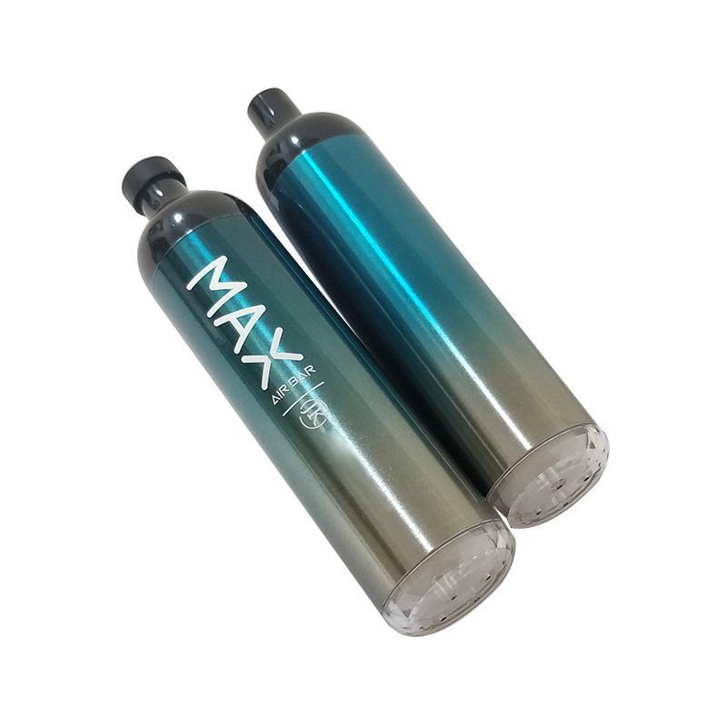 에어 바 최대 럭스 일회용 vape 전자 담배 2000 퍼프 17350 배터리 6.5ml 포드 스타터 키트