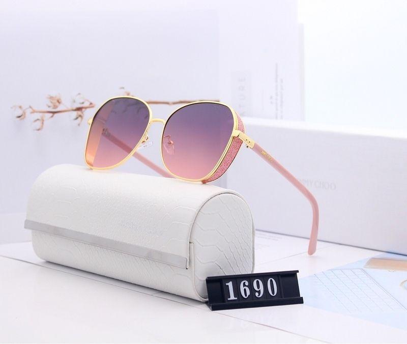 Neue Marke Designer Vintage Oval Sonnenbrille Frauen Retro Klarer Linse Brillen Runde Sonnenbrille Für Weibliche Damen Oculos de Sol