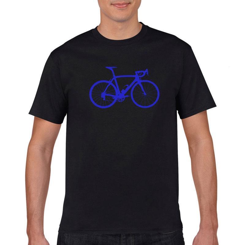 Мужские футболки 2021 летняя футболка мода веселая велосипедная печать шаблон простые повседневные свободные высококачественные короткие рукава