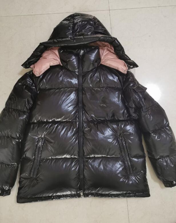 편지 배지 가을 겨울 남성 여성 outwear 외부 스포츠 유니섹스 파카를 가진 패션 망 디자이너 재킷