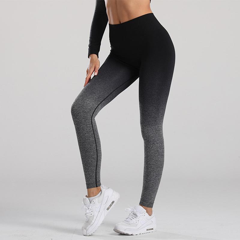Lantech 여성 체육관 요가 원활한 바지 스포츠 옷 스트레칭 높은 허리 리프팅 운동 피트니스 레깅스 Activewear Pantsscer Jersey
