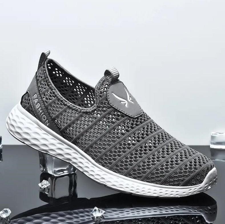 He112 Moda Tasarımcısı Sneakers Ayakkabı Nefes Deri Yüzey Yüksek Kaliteli Örgü Erkekler Indirim Eğitmen Rahat Yürüyüş Beyaz Siyah EU39-44