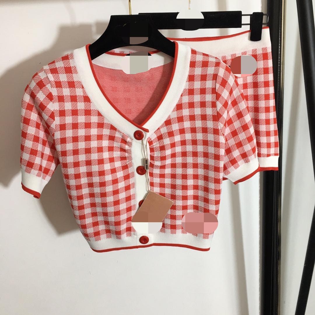 2021 Estate Brand Same Style Due abiti da due pezzi sopra il ginocchio regolarmente impero pulsante moda abiti casual Faluolan