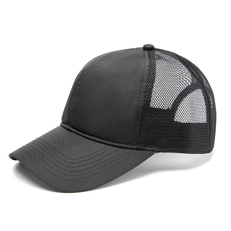 Big Head Circonference Hat Man Estate Suntan è la ventilazione naturale Asciugatura rapida Cappello da baseball Cappello da baseball Cappello per il tempo libero Cappello da sole all'aperto