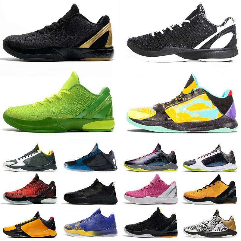 Nike Kobe Mamba Zoom 5 6 ZK5 KB5 Protro 6 6S Erkek Basketbol Ayakkabıları What If Lakers Bruce Lee Big Stage Chaos Prelude Metallic Gold Rings Zoom ZK Spor Ayakkabı