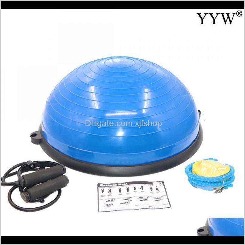 Inflable Yoga Resistencia Entrenamiento Fitness Ball Trainer Fuerza Equipo de entrenamiento Gimnasio Deporte Ejercicio Fitball Balls Hayon RSTQ4