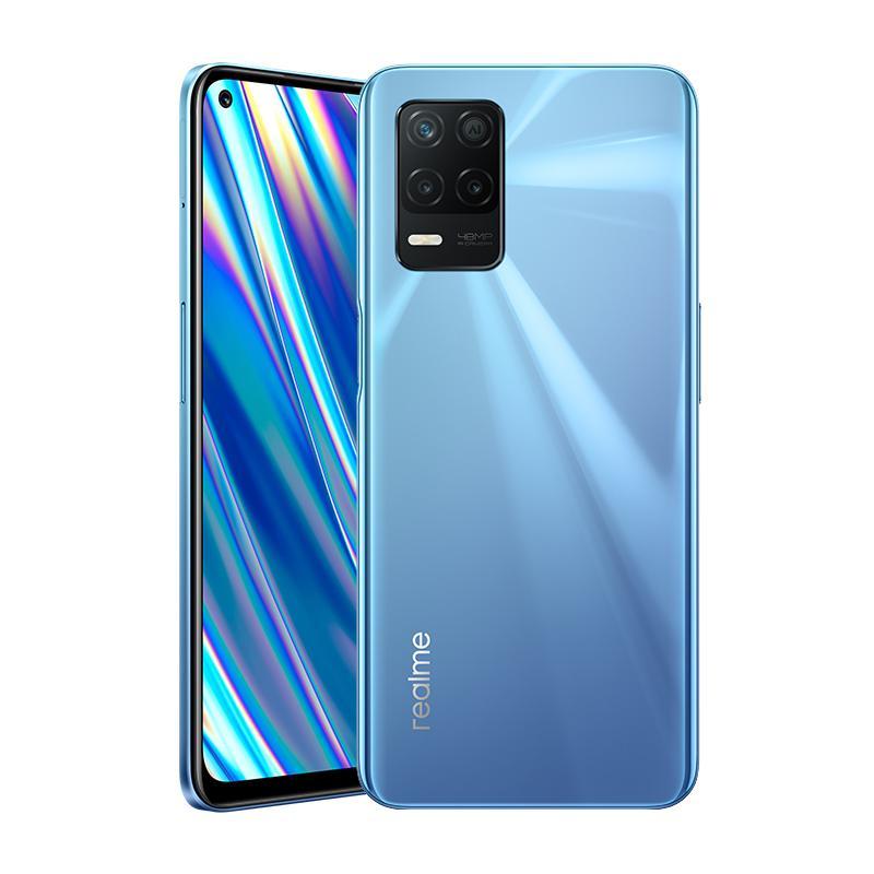 Original Realme Q3I 5G Mobiltelefon 4 GB RAM 128 GB ROM MTK Dimension 700 Octa Core Android 6,5 Zoll Full Screen 48MP 5000mAh Fingerprint-ID Gesicht Smart Mobiltelefon