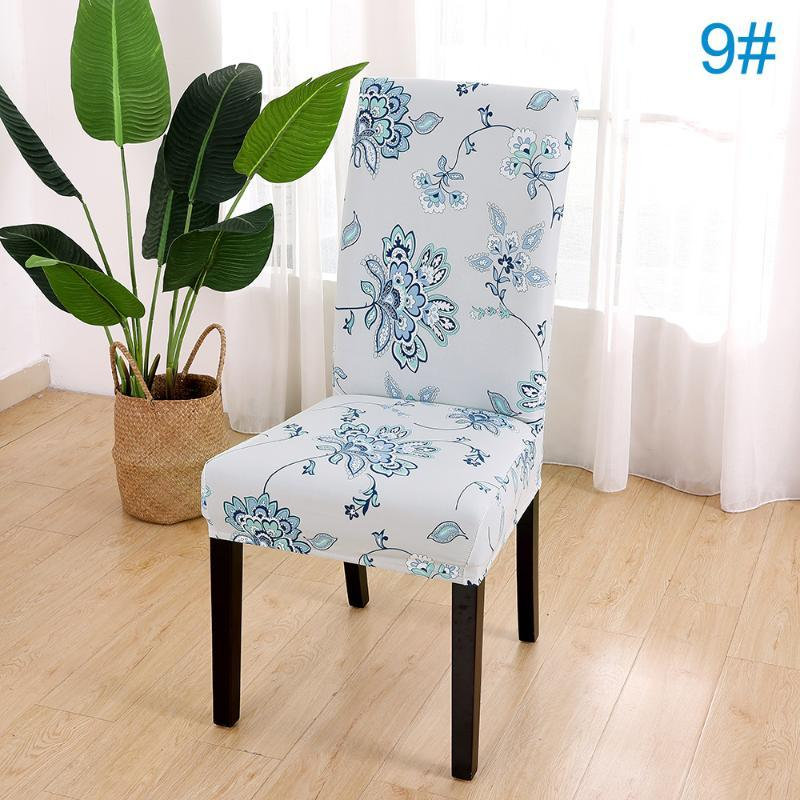 Cadeira cobre jantar removível estiramento macio festa de casamento decoração assentos