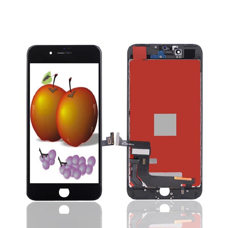 ЖК-панели для iPhone 7 Plus 5.5 класс A +++ Дисплей Сенсорный Digitizer экран Ассамблеи Ремонт TFT Нет мертвых пикселей 100% тестируют без пакета