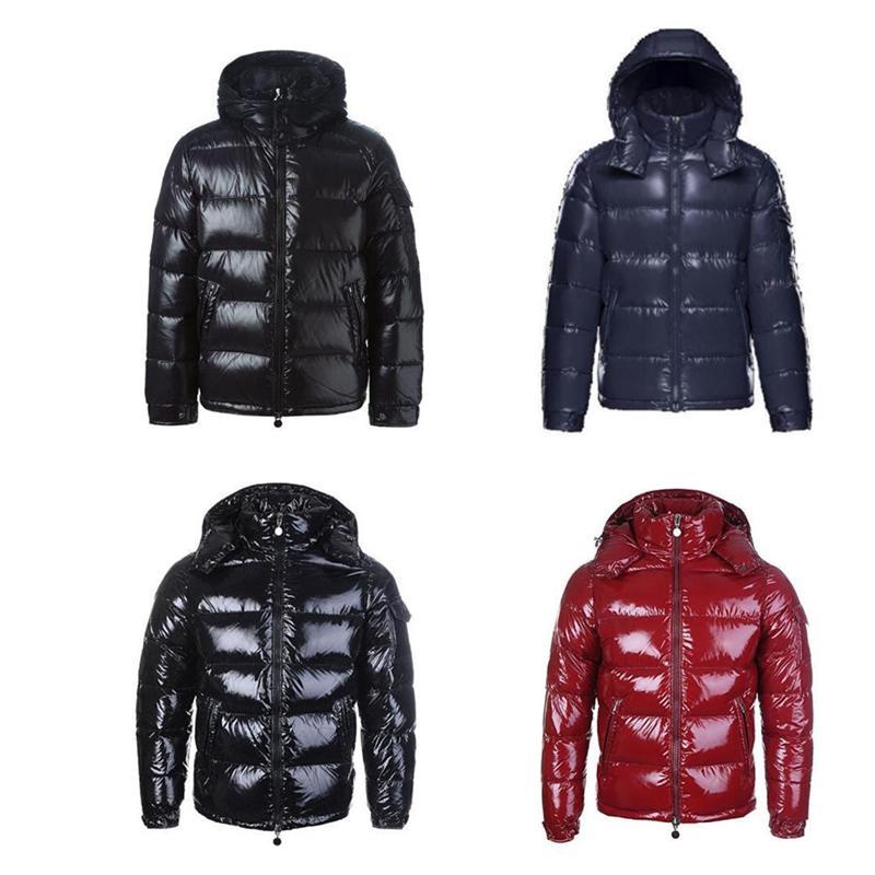 2021 Hommes Hommes Hommes Hiver Down Down Veste Vestes Puffer Capuche épais manteaux Mens Femmes Couples Parka Winters manteau