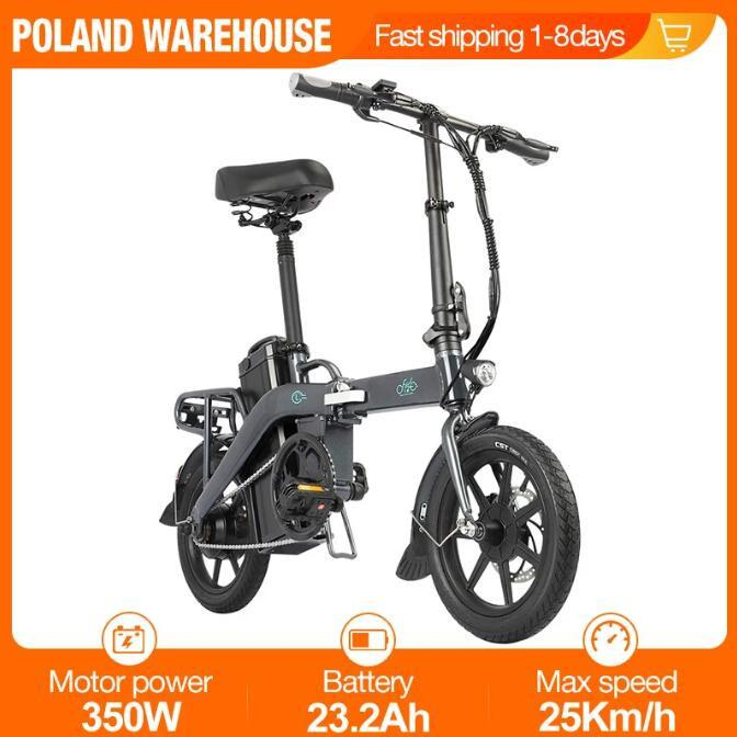 [UE INSTOCK] FIIDO L3 Bicicletta elettrica 48 V 350W City City Bikes Lithium Electric-Biking Power-Electric Pieghevole Pieghevole Pieghevole E-Bike Inclusive IVA inclusa