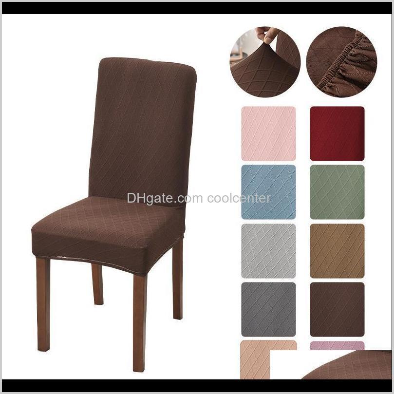 Sashes Têxteis Home Garden Drop entrega 2021 Moderno Alta Qualidade Elástica Elastic Elastic Sala de jantar Cadeira para Cadeiras Escritório de Cozinha