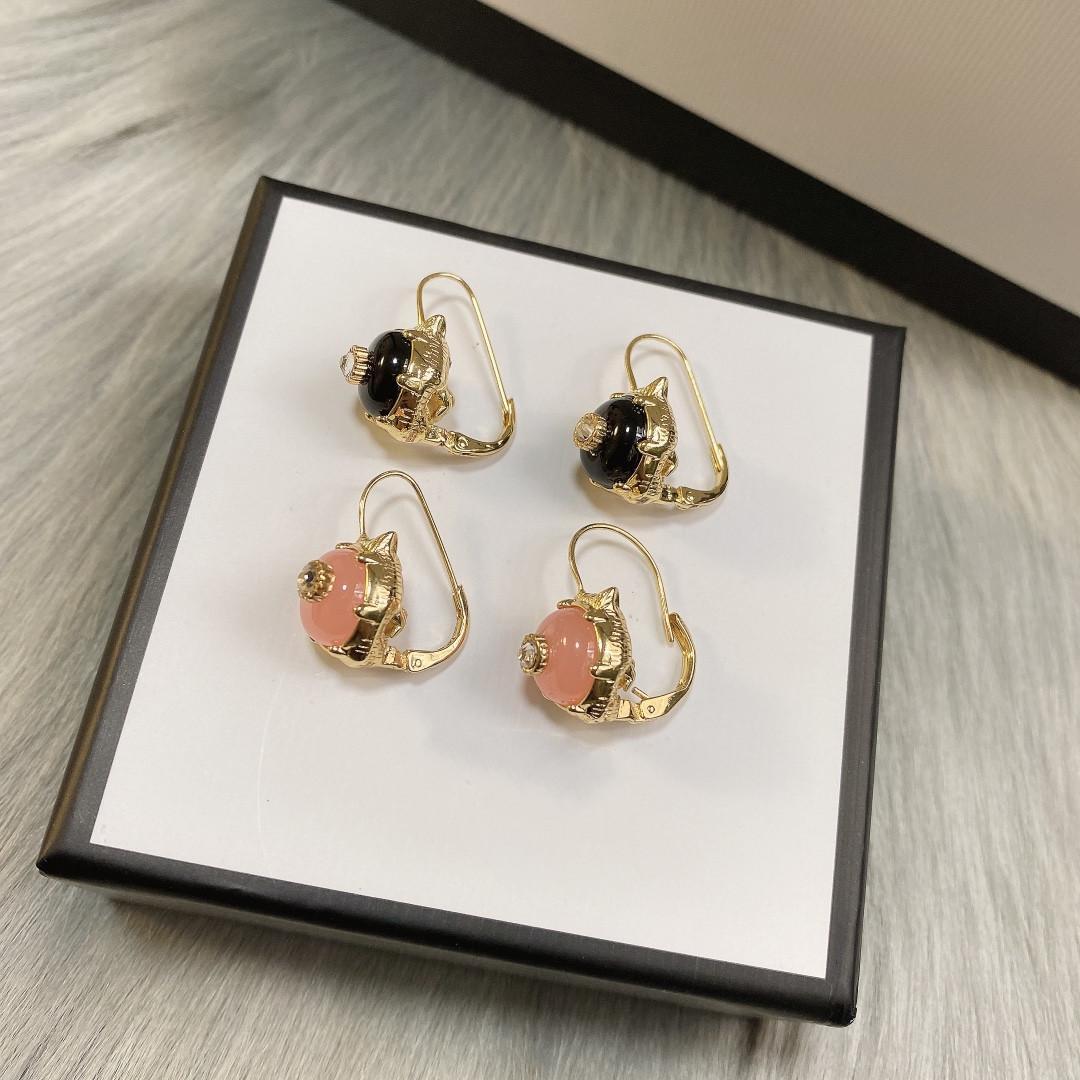 Orecchini in oro 18 carati orecchini moda per donna tendenza retrò design orecchini di alta qualità orecchini diamante fornitura di gioielli