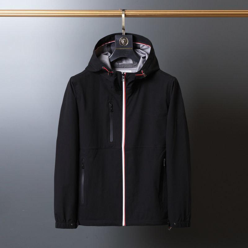 Herrenjacke Luxus Faltenbeständigkeit Freizeit Windschutzschicht Hohe Qualität Outdoor Kleidung M-2XL