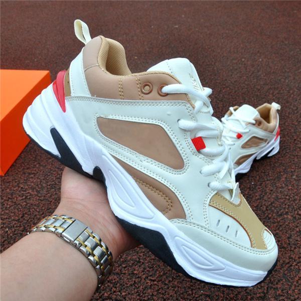 Erkek Kadın 8 Renk Rahat Ayakkabılar Moda Colorblock M2K Açık Sneakers Erkek Rahat Eğitmenler 36-44
