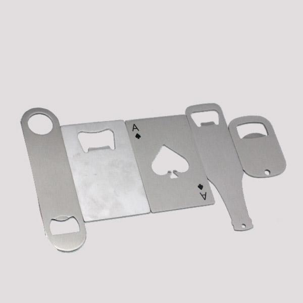 blank Sublimation print bottle opener Stainless steel 100 pieces / lot