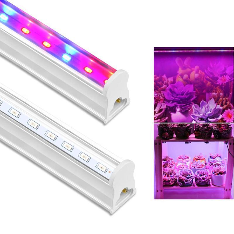 Bulbs 1/2/3/4/5PCS T5 Tube Led Grow Light For Indoor Plant Full Spectrum Lamp Vegetable Flowers Seeds Phyto Seedlings 30/57cm