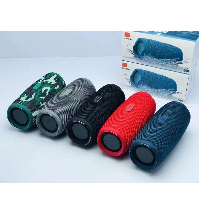 Charge 5 Bluetooth Speaker Charge5 Portable Mini Wireless Outdoor Waterproof Subwoofer Speakers Support TF USB Card DHL