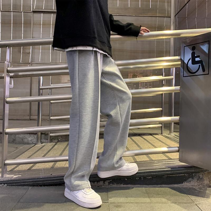 남성 바지 스트레이트 하렘 스웨트 남성 한국 남자 느슨한 캐주얼 여자 봄 streetwear CN (원산지) 전체 길이 사계절