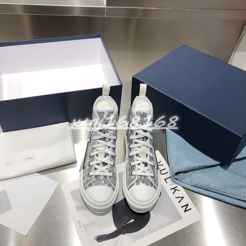 2021 고품질 1.1 높은 탑 네이비 블루 남성과 숀 여러 가지 빛깔의 능직 고무 꽃 캔버스 숙녀 캔버스 샌들 캐주얼 신발